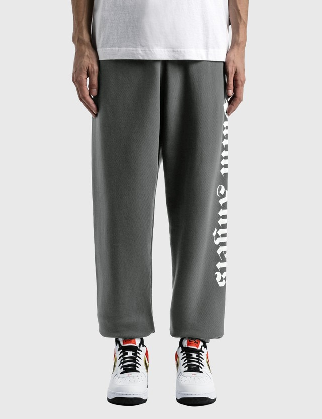 Palm Angels Side Logo Sweatpants Black Men
