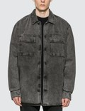 Off-White Arrow Oversize Denim Shirt Jacket Picutre