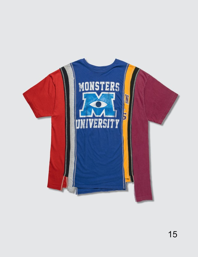 Needles 7 Cuts College T-Shirt =e47 Men