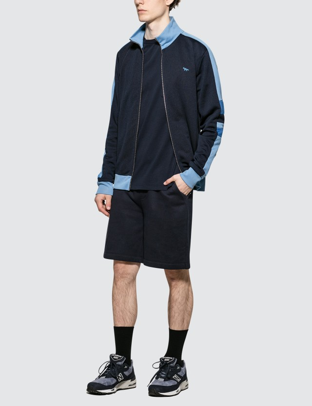 Maison Kitsune Technical Zipped Sweatshirt