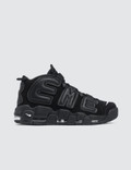 "Nike Air More Uptempo Supreme ""suptempo"" Black Picture"