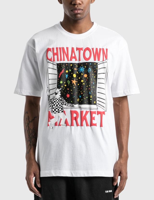 Chinatown Market 윈도우 티셔츠 White Men