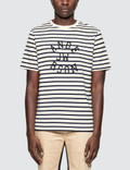 JW Anderson Multi Stripe Jwa Print S/S T-shirt Picture