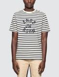 JW Anderson Multi Stripe Jwa Print S/S T-shirt Picture