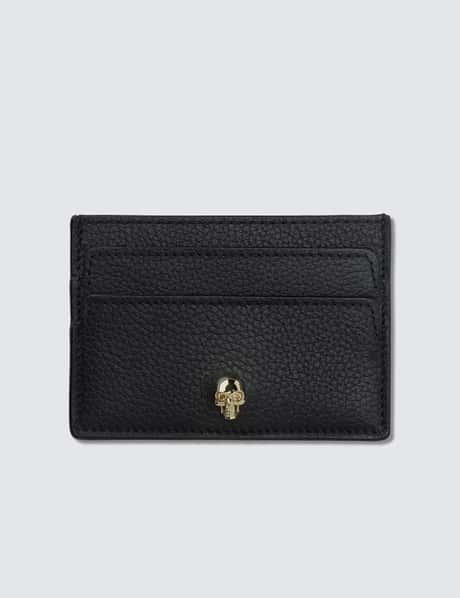 알렉산더 맥퀸 Alexander McQueen Skull Leather Card Holder