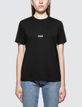 MSGM Micro Logo Short Sleeve T-Shirt Picture