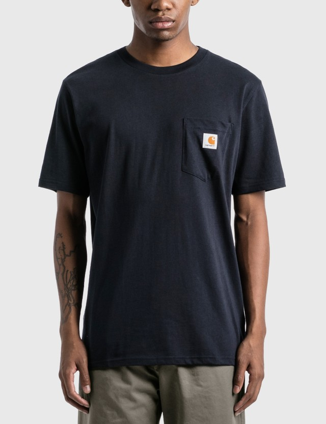 Carhartt Work In Progress Pocket T-Shirt Dark Navy Men