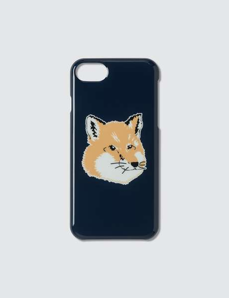 메종 키츠네 Maison Kitsune Fox Head IPhone 8 Case