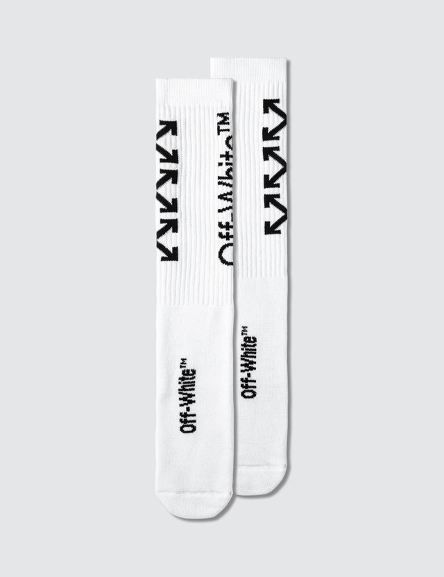 Off-White Carry Arrows Mid Length Socks