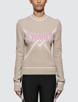 Off-White Knit Swans Sweater