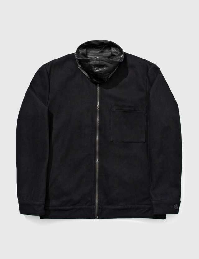 Helmut Lang Helmut Lang Leather Collar Jacket Black Archives