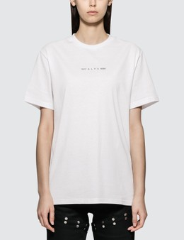 1017 ALYX 9SM Collection Code Short Sleeve T-shirt