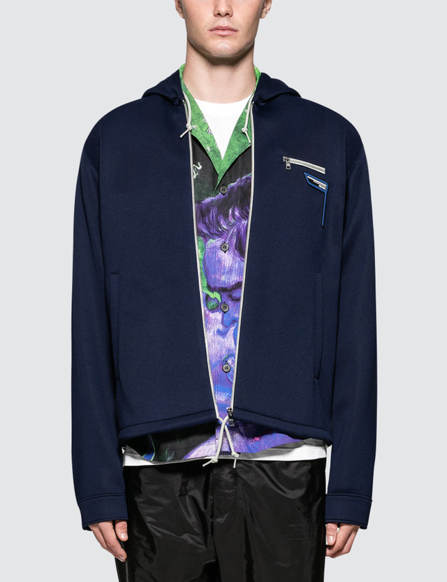 Prada Zip Pocket Jacket