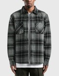 Stussy Max Plaid Quilted Shirt Picutre