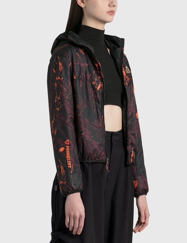 Nike Acg Rope De Dope Jacket Deep Burgundy/clay Orange Women
