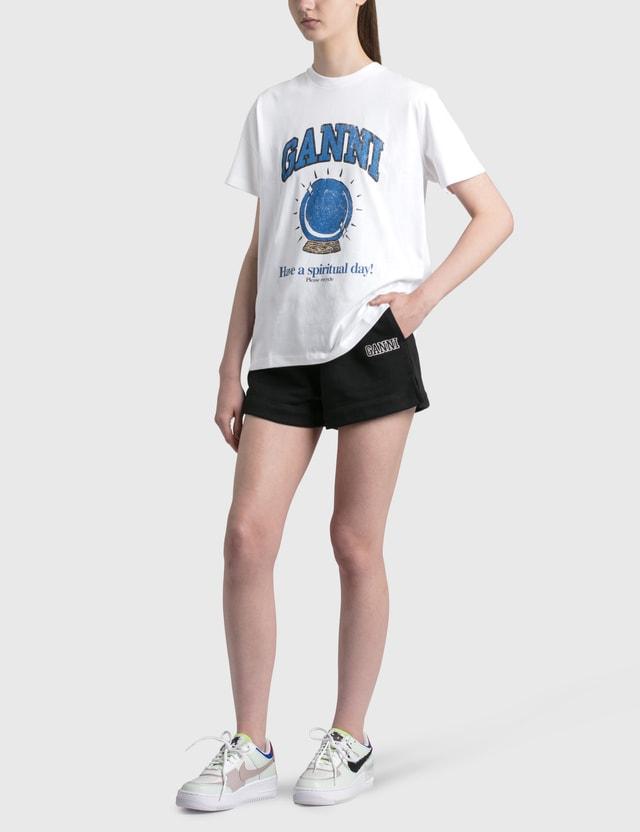 Ganni Software Isoli Shorts Black Women
