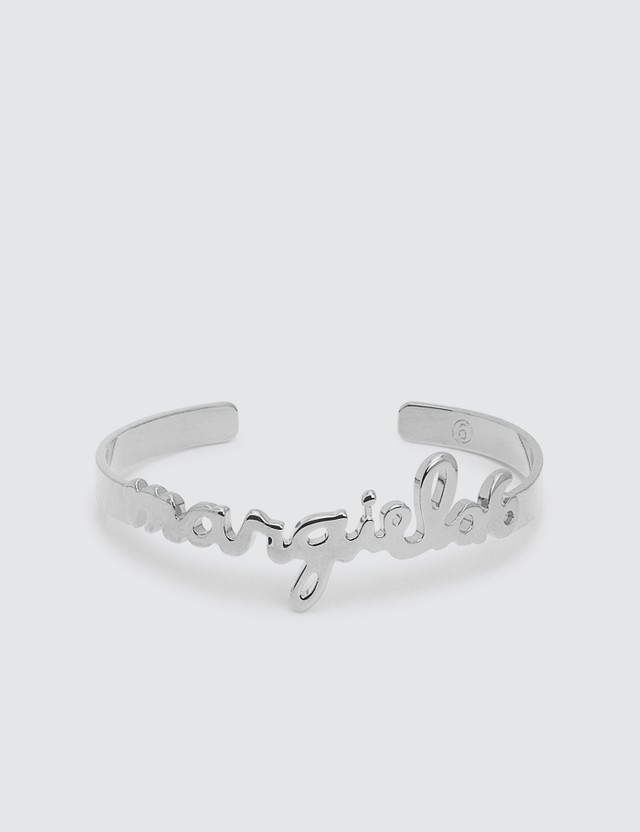 MM6 Maison Margiela Logo Bracelet