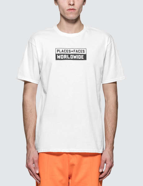 c3db5c2ce Places + Faces · Box Logo T-shirt