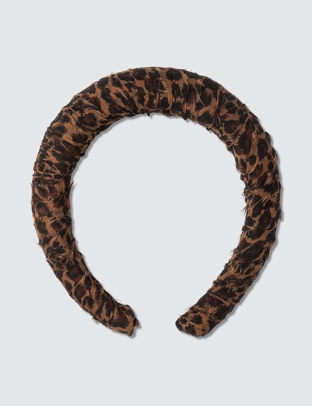 Lelet NY Chiffon Printed Padded Headband