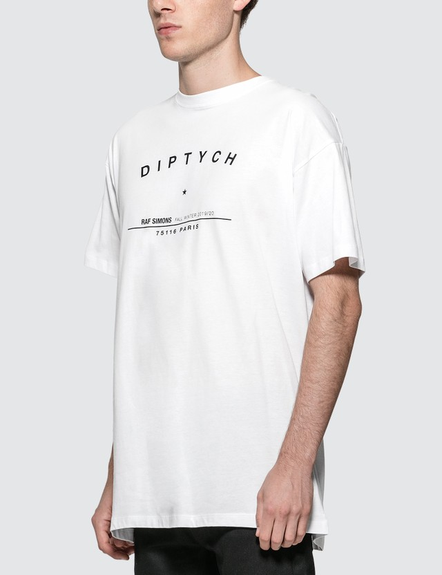 Raf Simons Big Fit Tour T-shirt