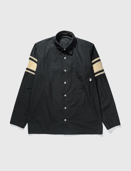 Mastermind Japan Mastermind Japan Black Knit Shirt
