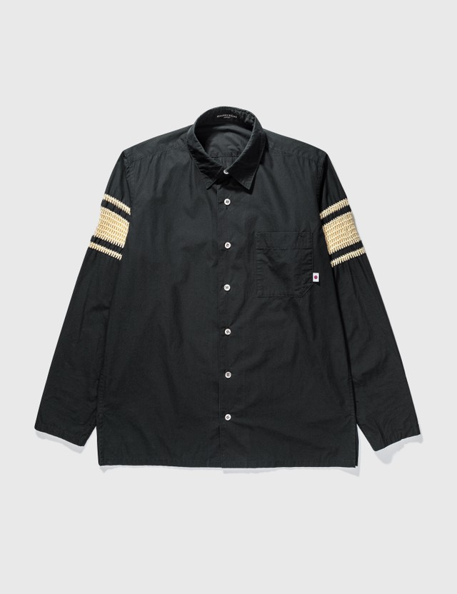 Mastermind Japan Mastermind Japan Black Knit Shirt Black Archives