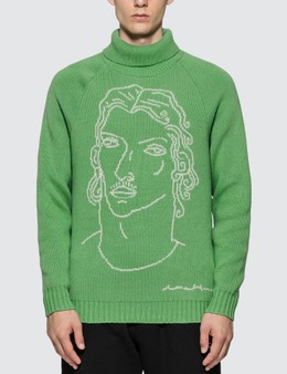 Casablanca Sid Turtleneck Knitted Jumper