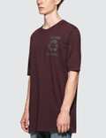 Faith Connexion PR Oversized Burgundy S/S T-Shirt