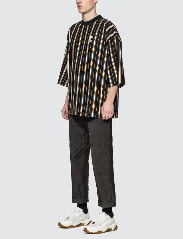 Maison Kitsune Stripes Oversized T-Shirt