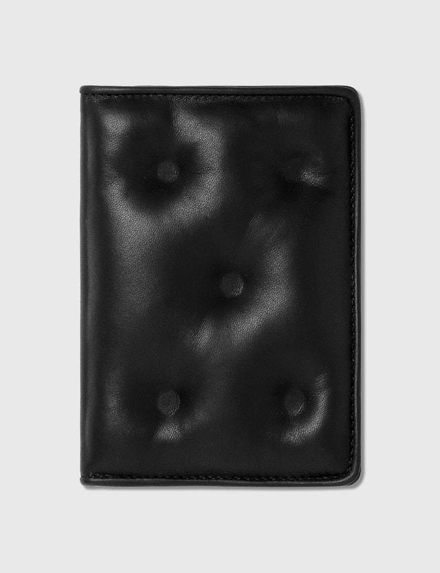 Maison Margiela 글램 슬램 패스포트 케이스 T8013 Black Men