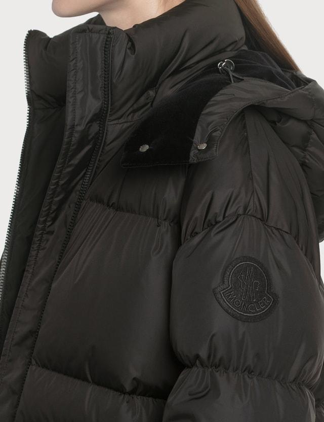 Moncler Tiac Puffer Down Jacket Black Women