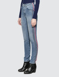 MSGM Straight High-rise Jeans
