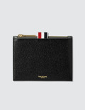Thom Browne Bicolor Small Coin Purse In Pebble Grain Picture