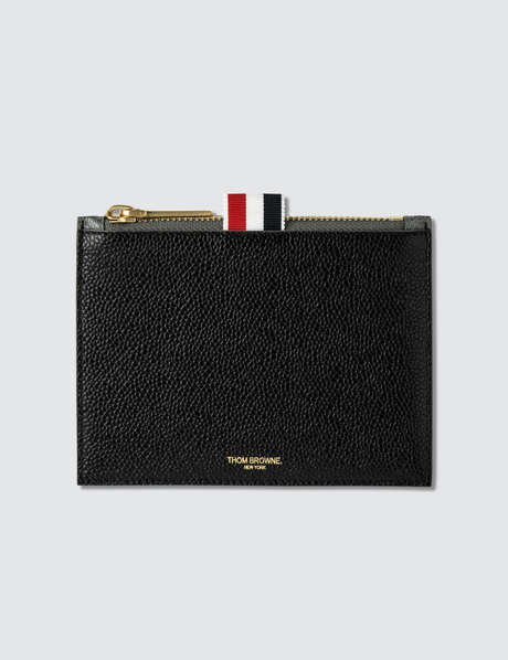 Thom Browne 톰 브라운 Bicolor Small Coin Purse In Pebble Grain