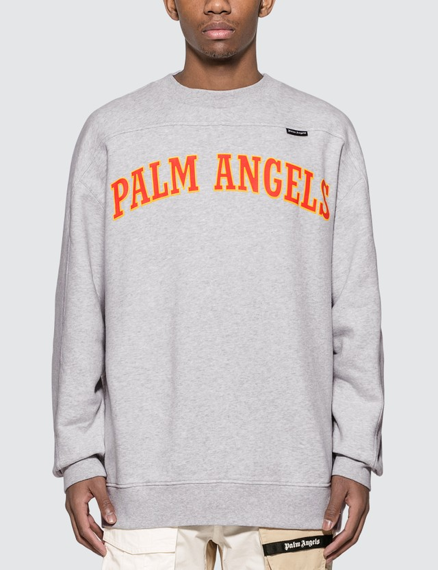 Palm Angels New College Logo Sweatshirt