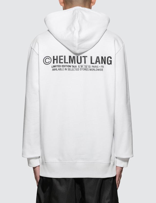 Helmut Lang Paris Taxi Hoodie