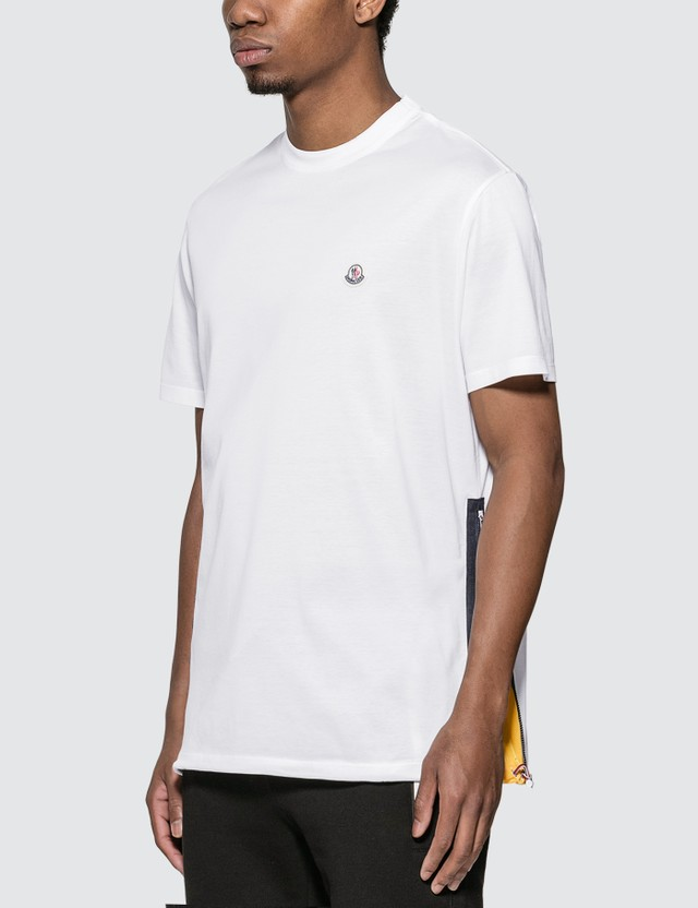 Moncler Cotton Jersey T-shirt White Men