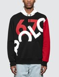 Polo Ralph Lauren Graphic Contrast-panel Stretch Hoodie Picutre