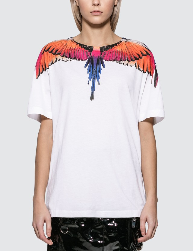 Marcelo Burlon Pink Wings T-shirt
