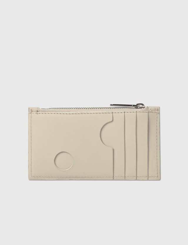 Off-White Burrow Zipped Coin Purse White Women