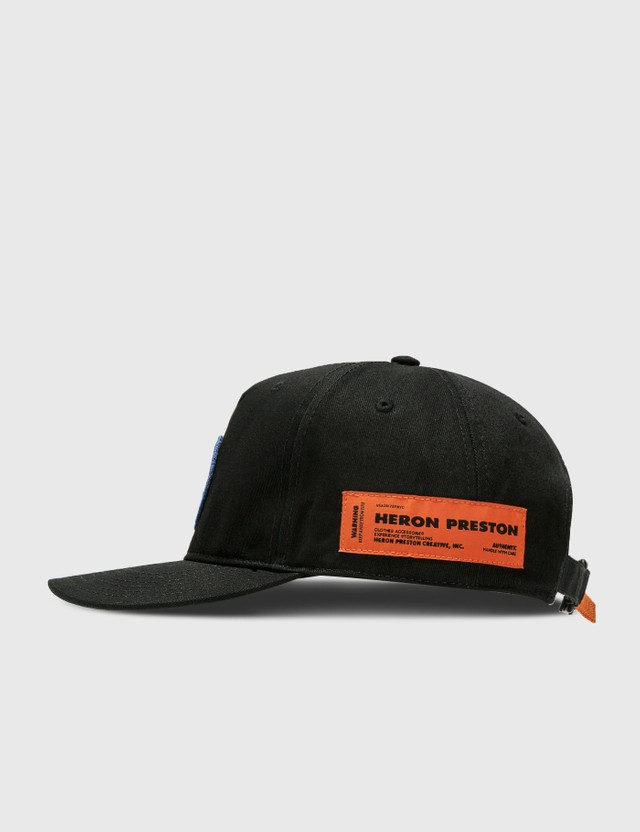 Heron Preston CTNMB Circle Cap Black Men