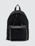 Faith Connexion Black Chain Detail Backpack Picutre