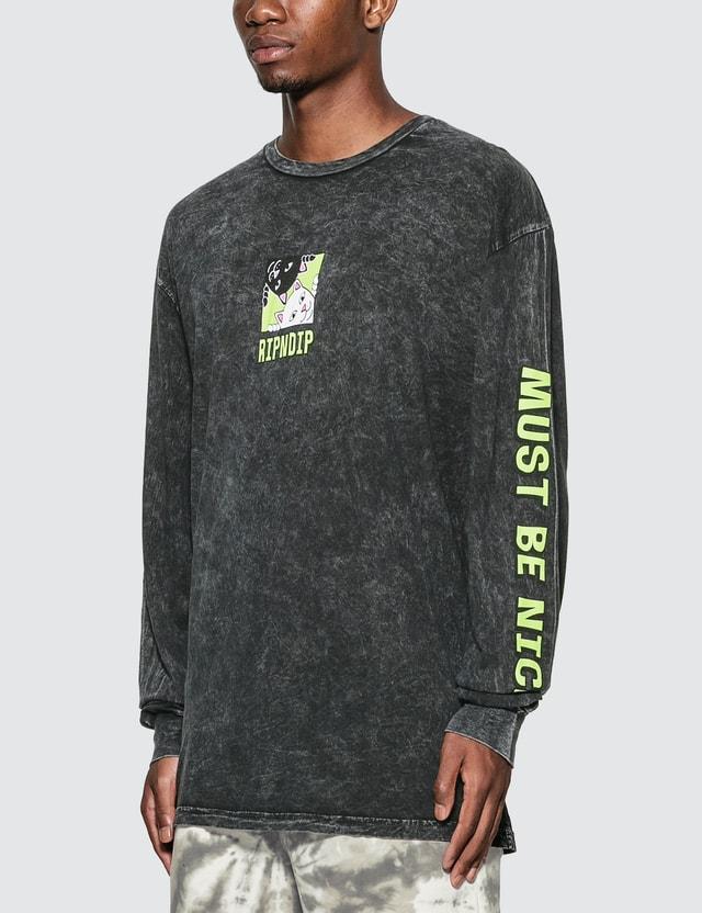 RIPNDIP Besties Long Sleeve T-Shirt =e27 Men