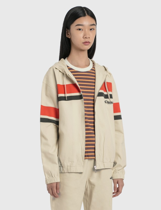Stussy Printed Stripe Hood Jacket