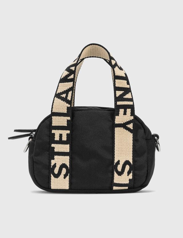 Stella McCartney Mini Stella Logo Boston Bag 1000 Black Women