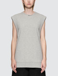 MM6 Maison Margiela Under Construction Sleeveless Sweatshirt