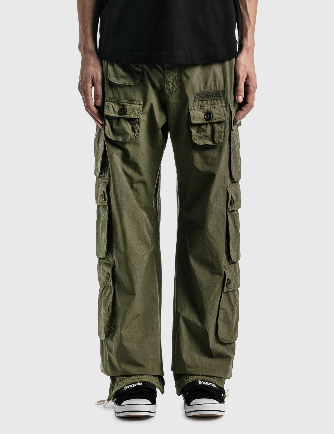 Palm Angels Cottons FULL POCKETS CARGO PANTS
