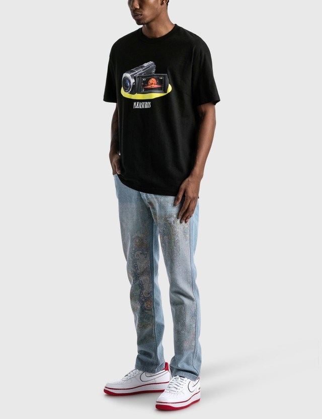 Pleasures Recording T-shirt Black Men