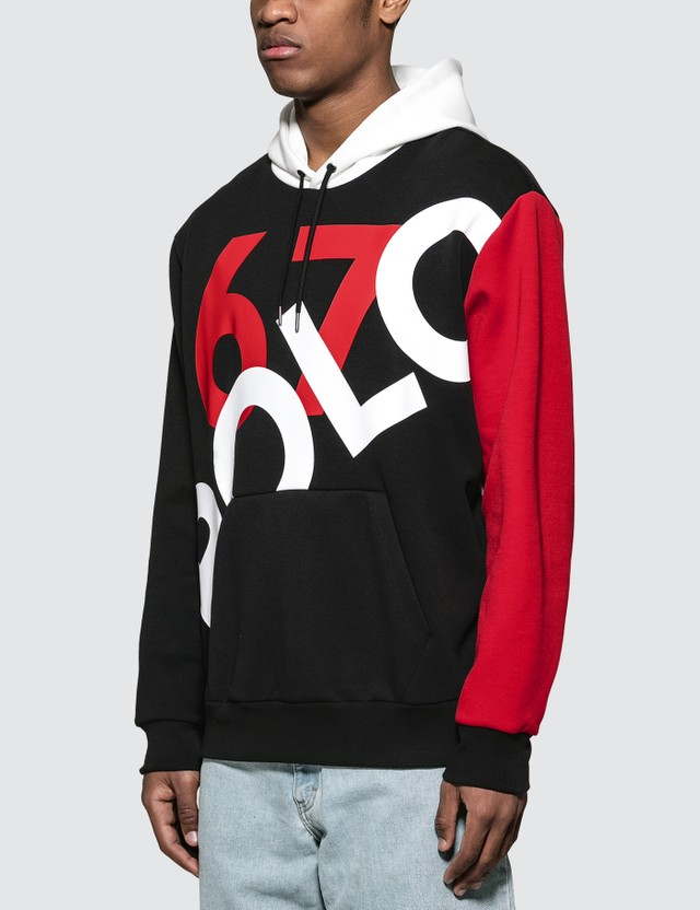 Polo Ralph Lauren Graphic Contrast-panel Stretch Hoodie