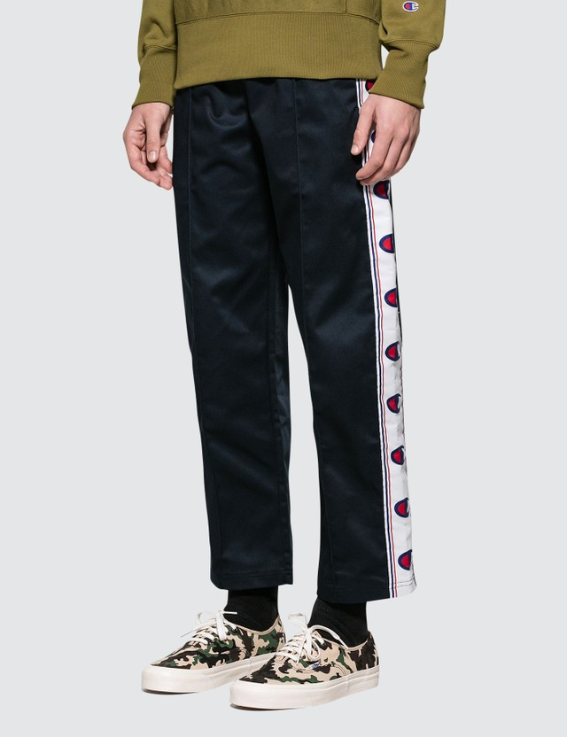 Champion Reverse Weave Tailored Tape Straight Hem Track Pants